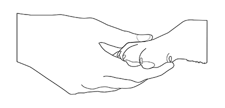 dog_paw_and_hand_outline